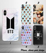 BTS K-pop case for iphone 11 pro max XR X XS SE 2020 8 7 plus 6 5 + SN