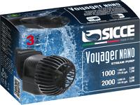 SICCE Voyager NANO 1000 Strömungspumpe 1000L/h 2,8Watt