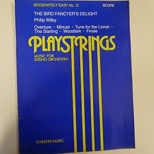 Playstrings No. 12 The Bird Fancyer's Delight (Score)