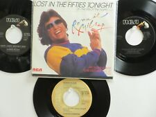 LOT OF 4 RONNIE MILSAP HIT 45's +1PS[Lost In The Fifties Tonight]THE 70's& 80's!