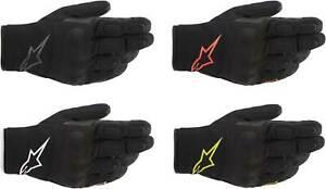 Alpinestars S-Max Drystar Gloves - Motorcycle Textile Waterproof Touch Screen