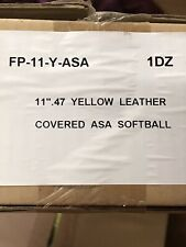 Fp-11-Y-Asa 11� 1 Dozen Softballs Softball