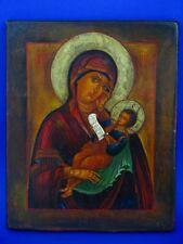 Icona russa Madre di Dio di Kazan Icon per 20. JH.
