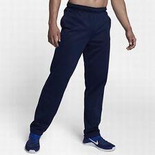 Nike Men's Sz 4XL - THERMA FLEECE TRAINING PANTS - Navy 800191 429