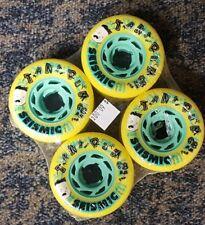 New Seismic Tantrum 68Mm 79A Freeride Skateboard Longboard Wheels Set Of 4