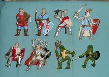 vintage Advanced Dungeons & Dragons AD&D bendy lot x8 Men-At-Arms Bullywugs