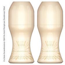 2 X Avon Incandessence Roll-on Desodorante Antitranspirante Mujer (RRP £ 5.20)