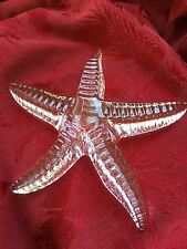 FLAWLESS Exquisite WATERFORD Ireland Art Crystal STARFISH STAR FISH Figurine