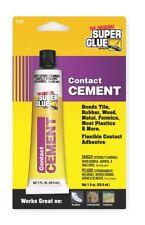 Super Glue 1 oz. Acrylic Contact Cement, Clear 1 oz. Clear   T-CC48