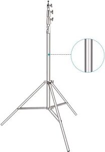 Neewer Heavy-Duty Light Stand 13 Feet/4 Meters Spring Cushioned Tripod Stand