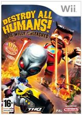 Destroy All Humans! Big Willy Unleashed Wii PAL Brand New
