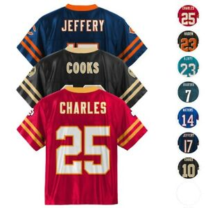 NFL Official Team Player Replica Home Away Jersey - Boys Youth (4-18) XS-XL
