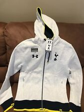 Tottenham Hotspur Under Armour Storm Full Zip Soccer Hoodie JacketNWT Size M Men