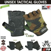 New CAMO Tactical Paintball Airsoft Gym Padded Protective Cycling Hunting GLOVES