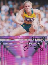 SALLY PEARSON 2 Hürden Foto 20x27 orignial signiert IN PERSON Autogramm signed