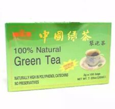 Royal King 100% Natural Premium Quality Green Tea  No Preservatives 100 Tea bag