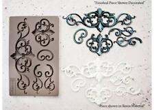 TILLDEN FLOURISH RE-DESIGN Prima Decor Moulds Molds Food Safe Resin  #632359