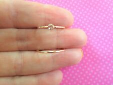 Gold toe ring bands - 2 Piece Set