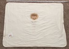 Anne Geddes Beginnings Baby Blanket Organic Cotton Rare Hard To Find Cream Color