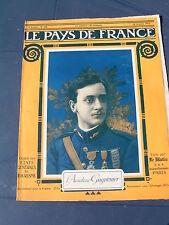 Pays de France 1916 104 RANCOURT GUILLEMONT FAY BAPAUME AUTHUILLE MARTINPUICH LE