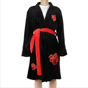 Anime Uzumaki Sleepwear Uchiha Itachi Bathrobe Nightwear Adult Pajamas
