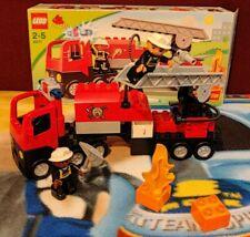 Lego Duplo 4977 - Le Camion de Pompier - Complet - Intervention