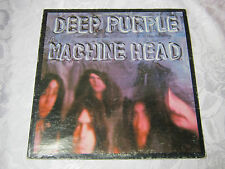 DEEP PURPLE MACHINE HEAD WITH LYRIC  INSERT  33 RECORD VINTAGE