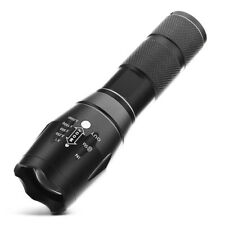 New 10000Lumen LED 18650/AAA Flashlight Zoomable Torch Focus Flashlight Lamp