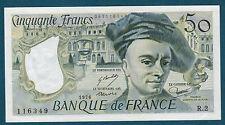 FRANCE - 50 FRANCS QUENTIN DE LA TOUR Fayette ° 67.1 de 1976 en SPL  R.2 116349