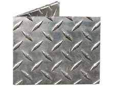 Dynomighty DIAMOND PLATE MIGHTY WALLET  looks like metal made of tyvek bifold