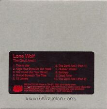 "Lone Wolf ""The Devil And I"" Rare Promo CD from Bella Union 2010"