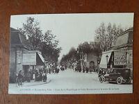 Cpa carte postale Avignon- Entrée de la ville  1924