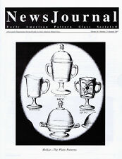 Early American Pattern Glass Society NewsJournal 10-2