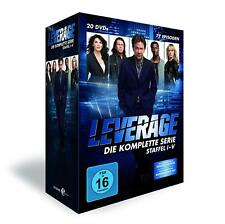 Leverage Complete Collection Series 1-5 DVD Box Set Season 1 2 3 4 5 New R2 Rel.