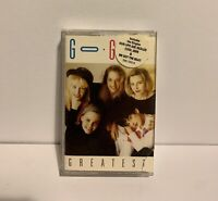 THE GO GOS- GREATEST HITS IRS RECORDS Cassette Tape EXCELLENT CONDITION RARE