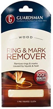 Guardsman Ring and Water Mark Remover Cloth 1 Pack- Wood Ring Mark Remover - and