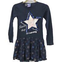 44b12e4df Girl's Desigual Gargalla Denim Mini-Skirt Size 5/6 Sequins Tulle ...
