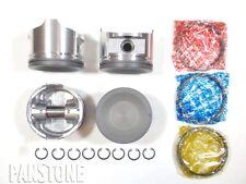 Premium Pistons/Rings for Nissan 2.4L 91-98 240SX, 93-97 Altima KA24DE DOHC Std.