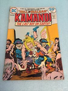 Kamandi last Boy on Earth #13 CGC graded 6.0 FN 1974 Bronze Age DC 20 cent comic