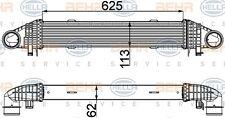 Intercooler Mercedes C180 / C200 Benzina da 07 a 14 Originale