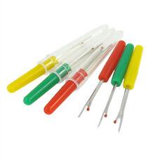 6pcs Seam Ripper Stitch Unpicker Sewing Craft Tool Plastic Handle Thread Cutter