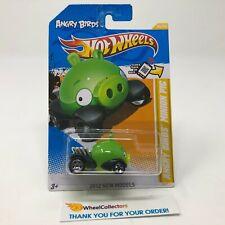Minion Pig Angry Birds #35 * Green * 2012 Hot Wheels * G29