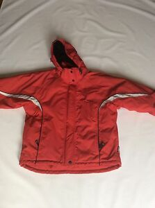 Girls Tog 24 Red Snowboarding Jacket Sz Age 11-12 Yrs #359