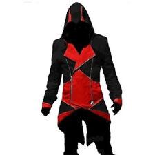 Assassins Creed3 Connor Costume Kenway Hoodie Men Jacket Coat Cosplay Tops Game