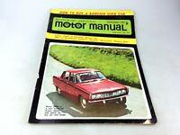 MOTOR MANUAL MAGAZINE - SEPTEMBER, 1965 - CHEVROLET - DATSUN