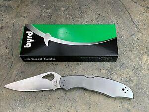 Spyderco Byrd Cara Cara 2 Stainless Steel Folding Knife BY03P2