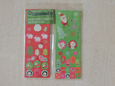 ~Holiday Time ~Sticker Christmas 12 Count Each Sheet Has 200 Counts Stickers