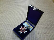 WW2 JAPANESE ARMY 3rd Orders of the Sacred Treasure MEDAL badge army navy RARE 3