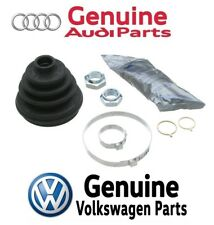 For Audi A3 TT Quattro VW R32 Rear Outer CV Joint Boot Kit Clamps & Grease OES