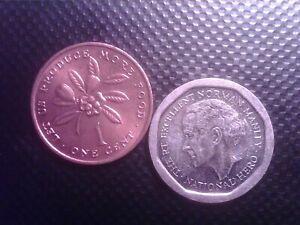JAMAICA   1     CENT  1973       5 DOLLARS    1996       JUL24